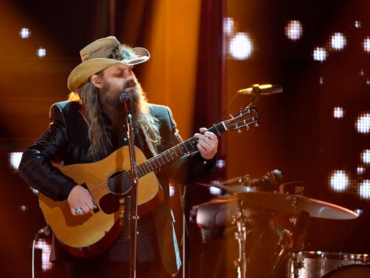 Chris Stapleton, a 2017 CMT Artist of the Year, performs