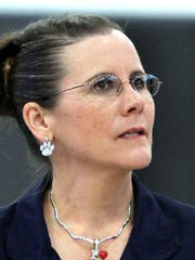 Janean Garney, seen in a file photo, was Principal