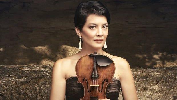 Anne Akiko Meyers violin was built in 1741.