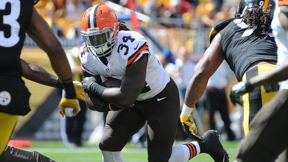 Former Alabama State star Isaiah Crowell has three touchdowns in his first three NFL games.