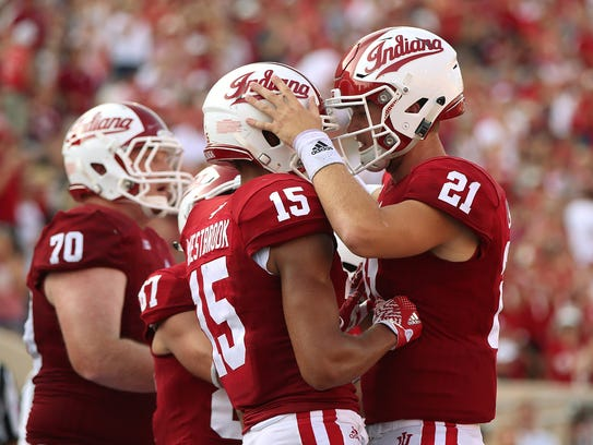 Image result for Richard Lagow and Nick Westbrook