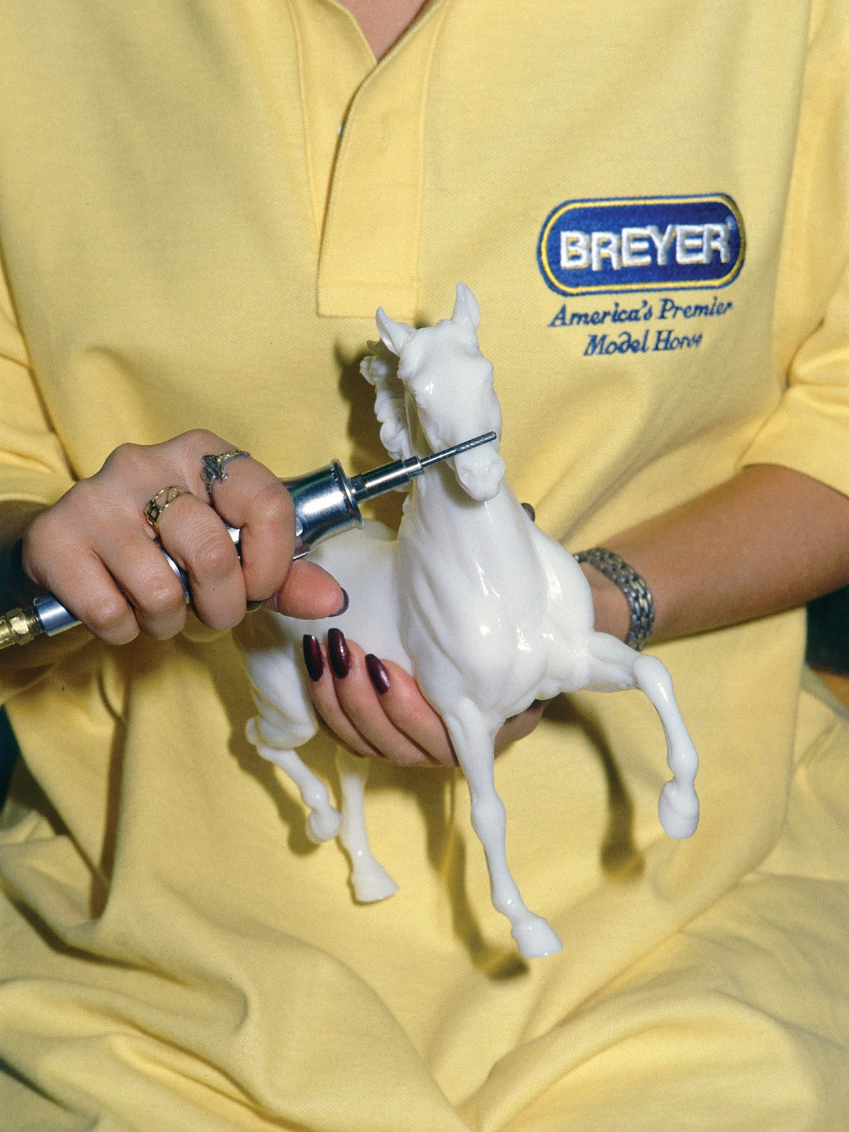 American Pharoah Gets His Own Breyer Collectible At Breeders Cup 2015