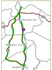 Highway Hosts Sixth Annual Yard Sale - Us 41 map