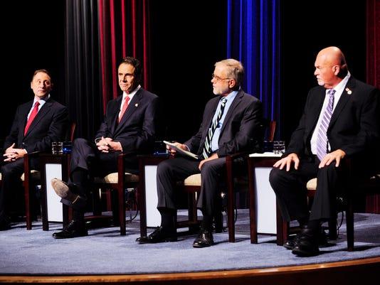 Governor New York Debate