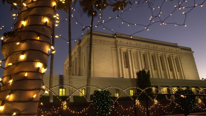 The Mesa Mormon Temple will close for two years beginning May 2018 for major renovations.