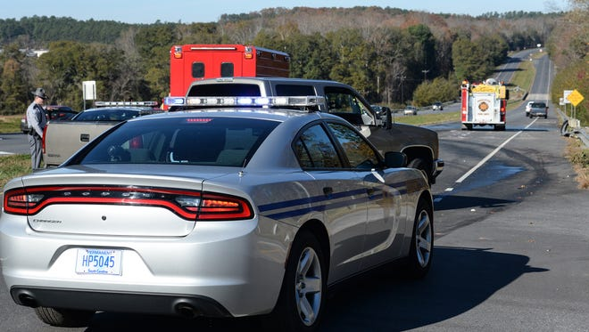 The South Carolina Highway Patrol responded to a fatal crash Tuesday.