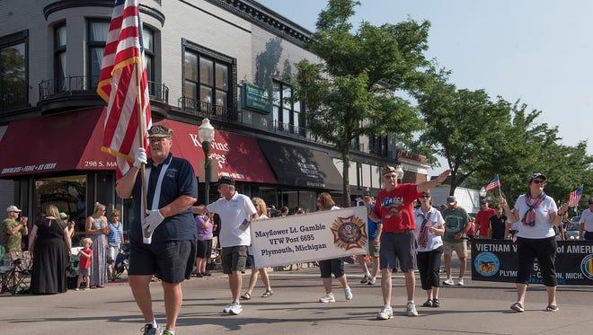 Plymouth's Good Morning USA Parade.