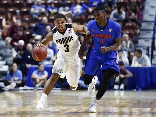 NCAA Basketball: Hall of Fame Tip Off-Florida vs Purdue