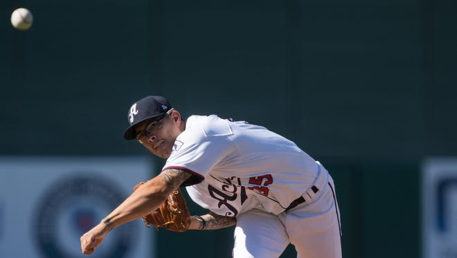 Sinton-grad Anthony Banda is now pitching for the Reno Aces in the Pacific Coast League.