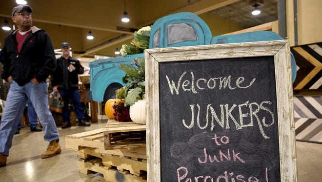 The Great Junk Hunt at the Oregon State Fairgrounds in Salem on Saturday, Oct. 21, 2017.