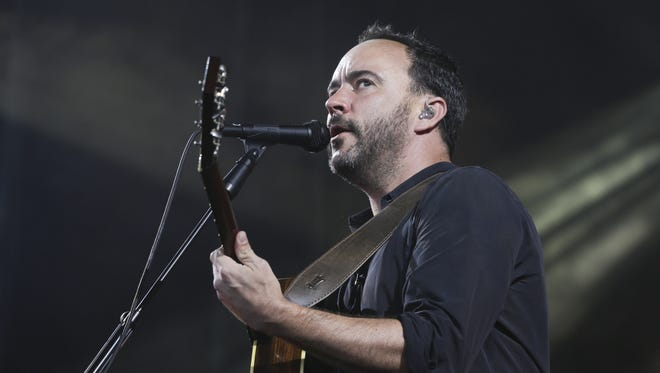 The Dave Matthews Band performs at Klipsch Music Center in Noblesville on Friday, July 22, 2016.