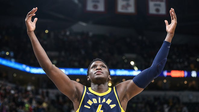 Victor Oladipo will compete in the dunk contest and playfor Team LeBron in the All-Star game this weekend.
