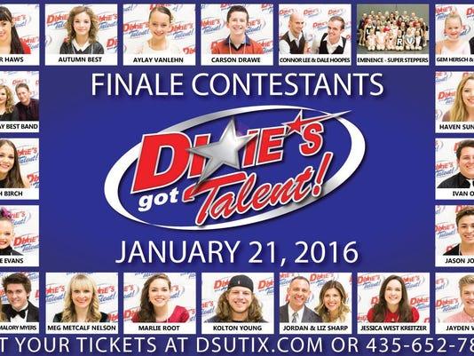 Dixie's Got Talent Finalists