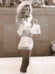 LouAnn Alexander years ago when she was a Broncos cheerleader.