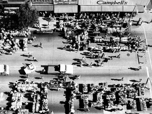 1976 Sidewalk sale