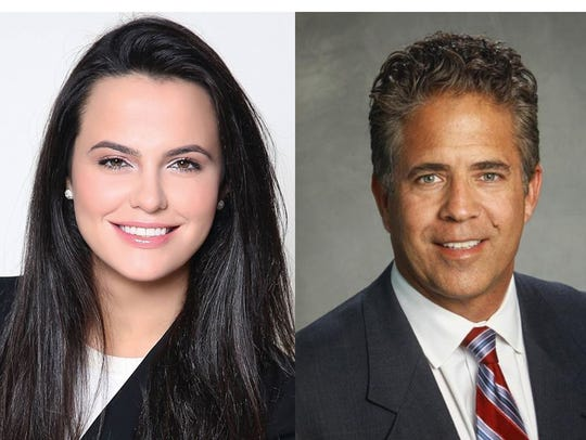 Democrat Suzanna Shkreli and Republican Mike Bishop