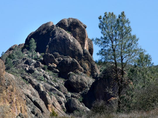 A view of the High Peaks at Pinnacles National Park. The park's new status was celebrated.
