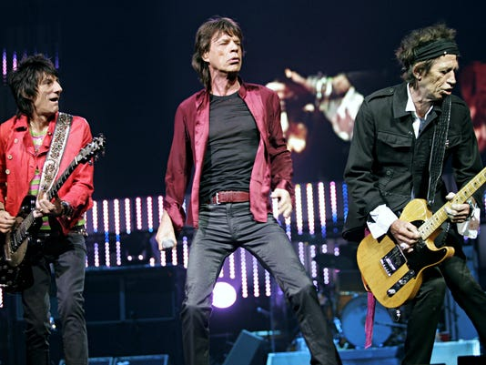 RON WOOD MICK JAGGER KEITH RICHARD