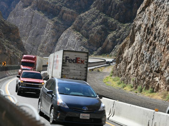 ADOT says heavy traffic is expected in the Virgin River Gorge this holiday weekend. ADOT urges motorists to expect delays and encourages drivers to be cautious of work zone equipment.