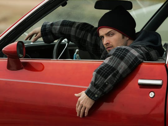 "Aaron Paul reprises his role as Jesse Pinkman ""El Camino: A Breaking Bad Movie."""