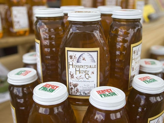 Products from Herbertsville Honey will be available at the Toms River and Red Bank farmers markets.