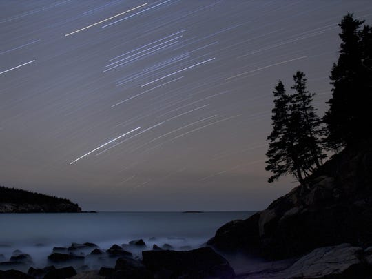 The star-filled night skies are celebrated during the annual Acadia Night Sky Festival in Maine.