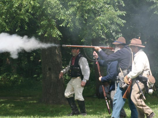 Hulston Mill hosts its annual Civil War Days with re-enactments, crafting and lifestyle demonstrations.
