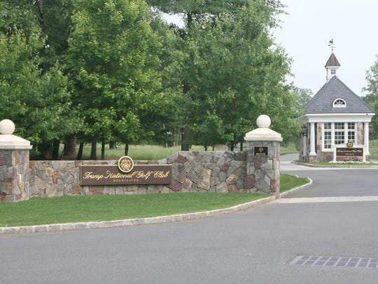 Trump National Golf Club in Bedminster, New Jersey.