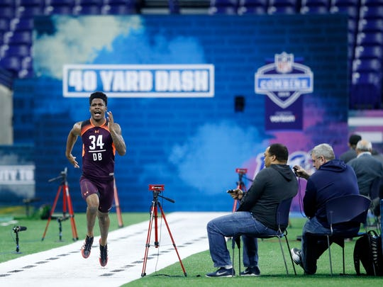 NFL Combine - Day 5