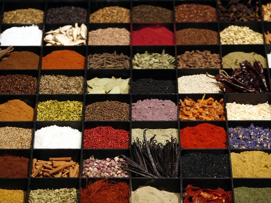 FILE - In this July 11, 2006, file photo, a display of spices lends color to a section of the Fancy Food Show in New York City. Doctors are reporting that people infected with the pandemic virus may lose their sense of smell and perhaps taste. Virus infection is already a known cause of smell loss, and in some cases it can be permanent. But in cases of the pandemic virus, it looks more like a temporary effect. (AP Photo/Seth Wenig, File)