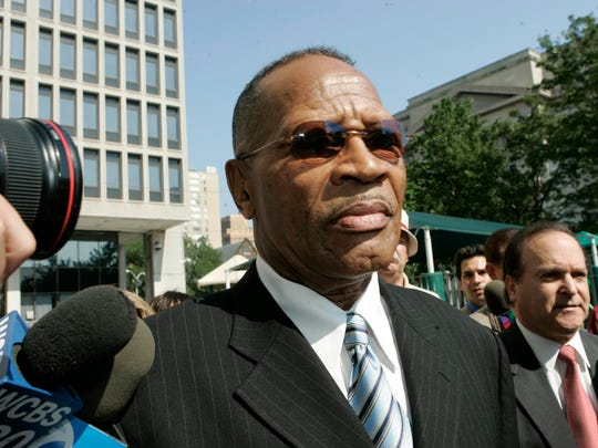 Former Newark Mayor Sharpe James was convicted of rigging