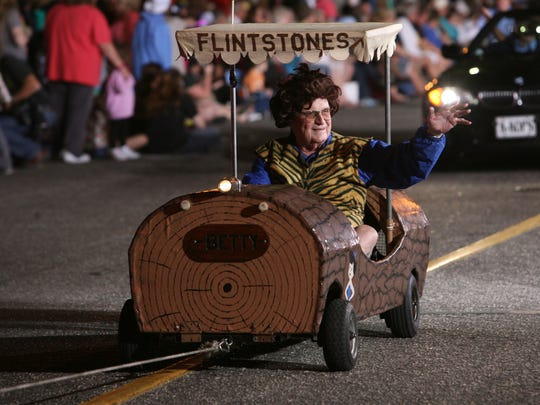 Thousands attended the Edison Festival of Light Parade through the heart of Fort Myers Saturday, February 19, 2011.