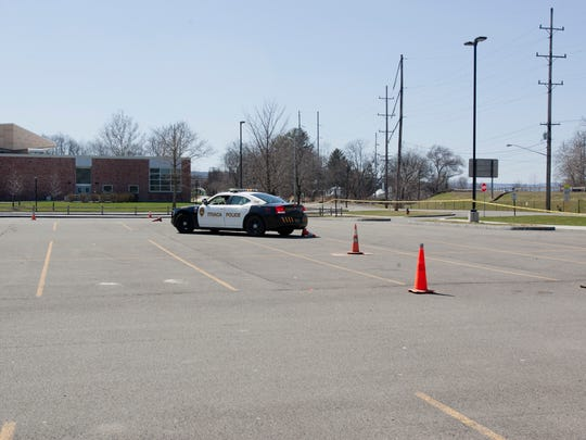 Citizens got behind the wheel of Ithaca police cars for the second-to-last Citizens Police Academy session Sunday.