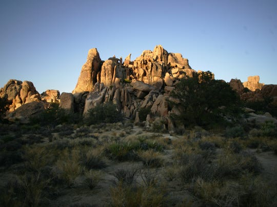 Joshua Tree National Park, seen at sunset in this file photo, is one of several national properties that has a maintenance backlog due to budget constraints.