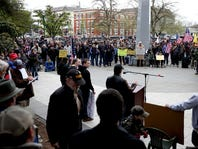 Photo Gallery: Pro-Gun Rights Rally Draws Hundreds