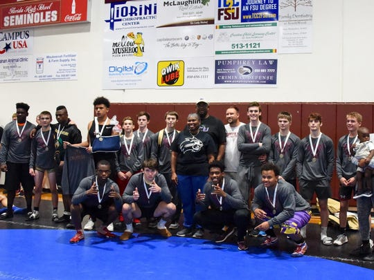 Weight class winners of the Cam Brown Seminole Classic.