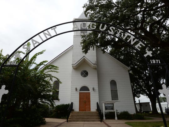 "St. Augustine Catholic Church, Isle Brevelle, was used for the wedding scene in ""Steel Magnolias."""