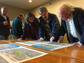 Citizens discuss an updated plan for the County Grounds