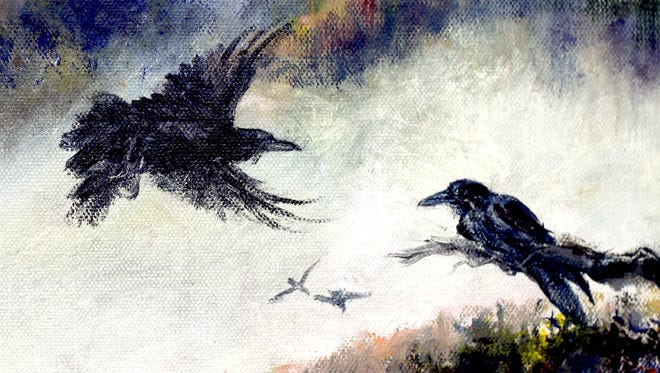 Ravens are the high-flying acrobats of the bird world.