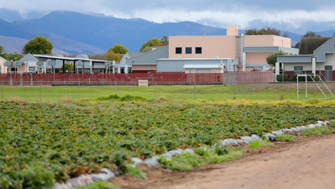 New state regulations restrict the use of pesticides near schools such as Gavilan View Middle School.