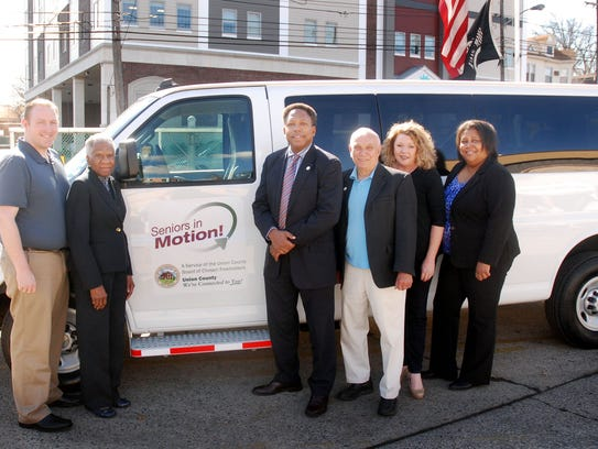 The Freeholder Board presented the City of Linden with