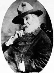 Famed American poet Walt Whitman.