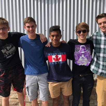 The Dropouts, a band made up of new Wausau West graduates, to perform at Summerfest