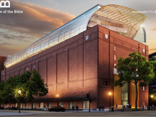 The Museum of the Bible is scheduled to open in November