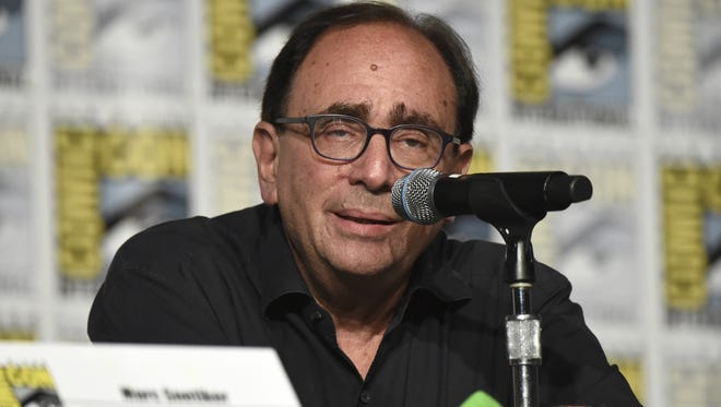 """Goosebumps"" creator R.L. Stine speaks on a panel on at Comic-Con International in San Diego."