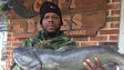 Johnnie White caught this 16-pound 15-ounce catfish