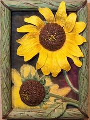 """Sunflowers Greeting the Morning"" by Jan Preston Archey"