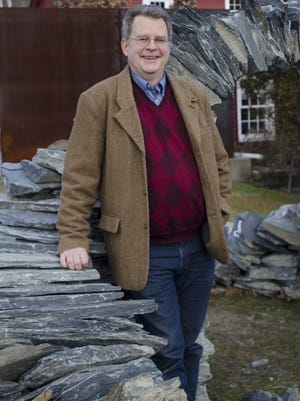 Alex Aldrich is the executive director of the Vermont Arts Council in Montpelier on Monday Dec. 19, 2011.