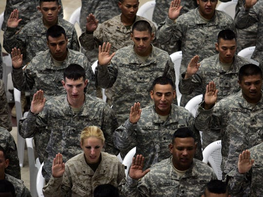 Diverse soldiers 2006