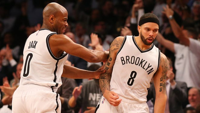 Deron Williams (8) scored 35 points in Game 4, more than the first three games of the series combined.